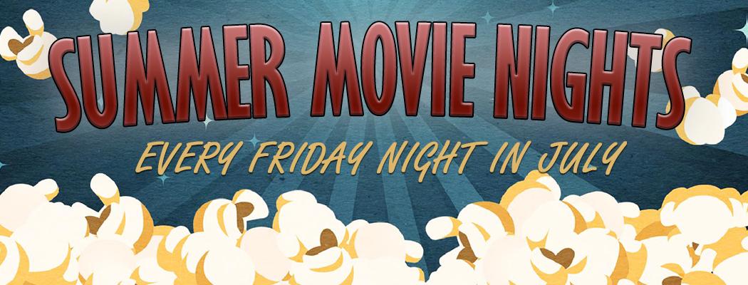 Website Summer Movie Nights Banner