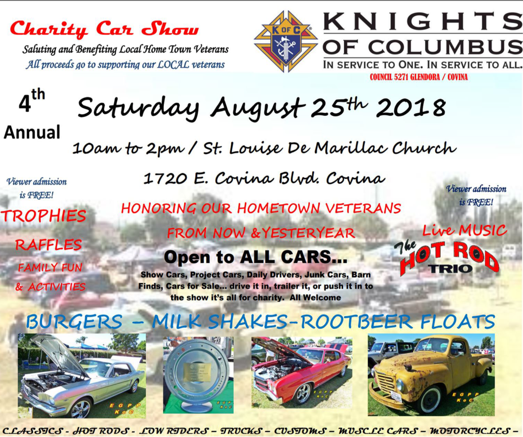 Knights Of Columbus Charity Car Show StLouise De Marillac - Car show cars for sale